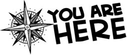 You Are Here Teen Summer Reading Club logo